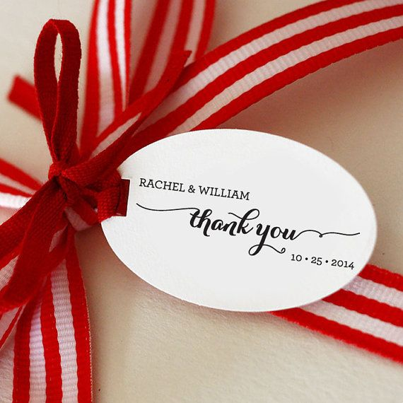 Thank You CUSTOM Stamp, Self Inking Stamp For Wedding