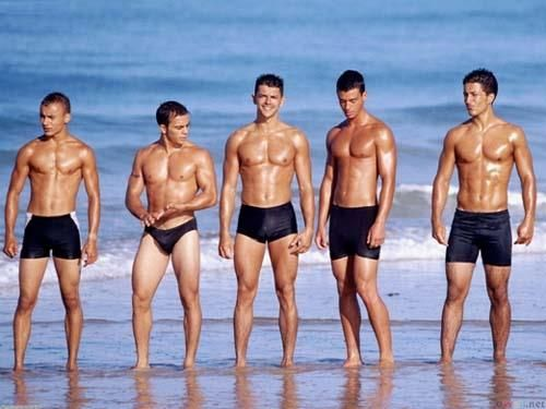 Черные шорты для плавания женские