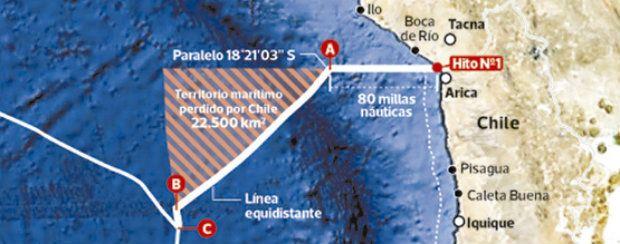 28.01.14: Las diez claves para entender el fallo de la Haya sobre la demanda limítrofe de Perú contra Chile | Política | LA TERCERA