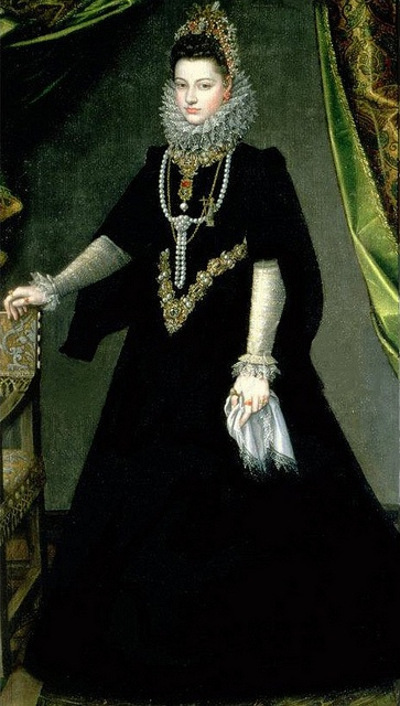 Isabella Clara Eugenia by Sofonisba Anguissola, c. 1599
