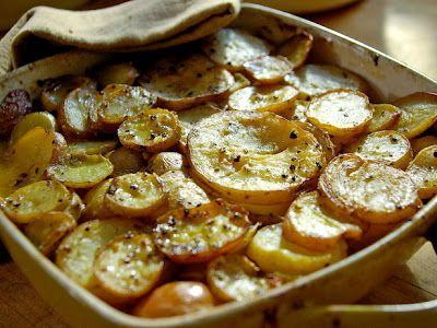 Fabulously French: Pommes de Terre à La Boulangère.