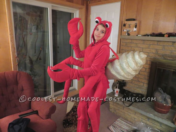 Coolest Hermit Crab Costume... This website is the Pinterest of costumes
