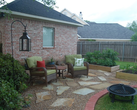 36 best images about Gravel patio ideas! on Pinterest ... on Patio And Gravel Ideas id=50084
