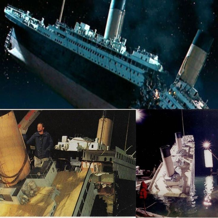 Titanic U0026 39 S Film Curiosities  To The Ship Split In Two By The Third And Fourth Chimney Was Used To