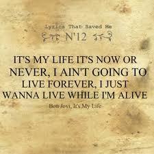 It's My Life... - Bon Jovi