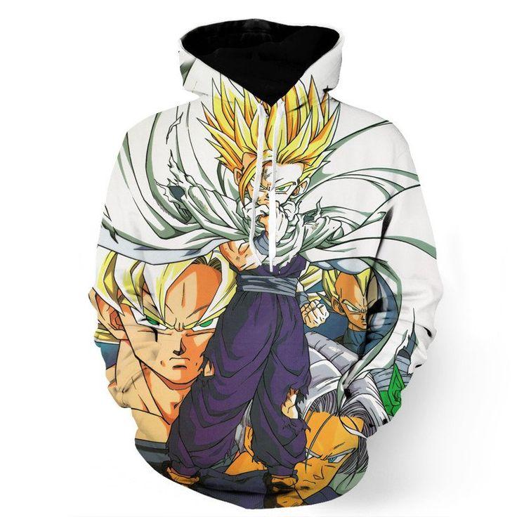 Dragon Ball Gohan Kid Super Saiyan Goku Vegeta Trunks Super Style Hoodie    #Dragon #Ball #Gohan #Kid #Super #Saiyan #Goku #Vegeta #Trunks #Super #Style #Hoodie