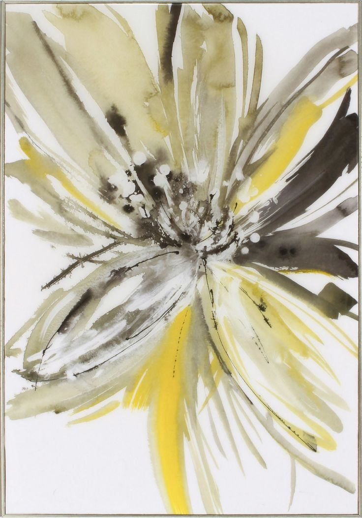 A Sunny Bloom Framed Painting Print