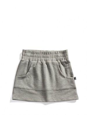 Buy Minti Zippy Skirt Grey Marle