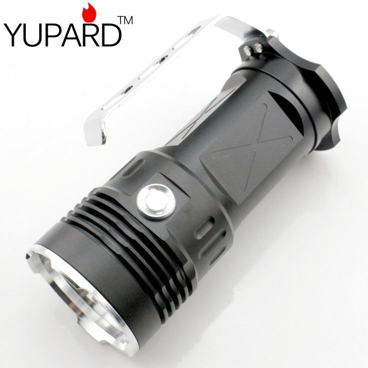 (26.18$)  Know more  - YUPARD  3* XM-L2 LED Super Bright Spotlight Searchlight Flashlight super T6 LED High Power flashlight 18650 rechargeable battery