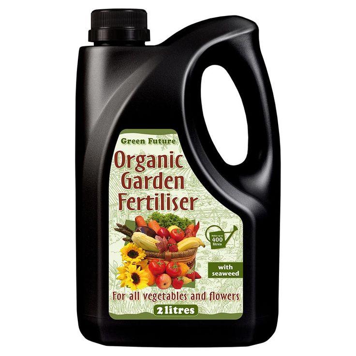 Green Future Organic Garden, 2L, Ekologisk #Näring #Trädgårdsväxter #Ekologisk