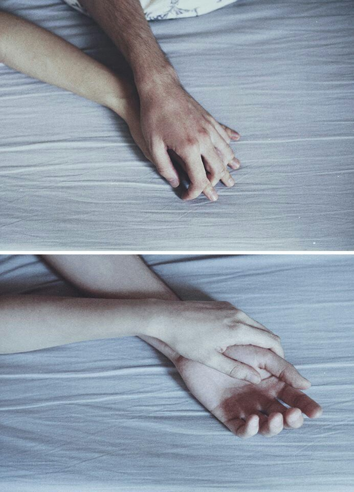 Life feels like all the hands you've held