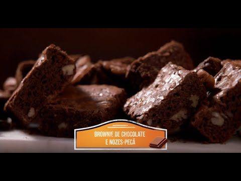 36b155b90d23 Brownie de Chocolate e Nozes Pecan