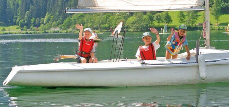 Segelkurs für Kinder am Brennsee