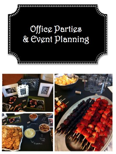 tips for organizing and hosting an office party or event