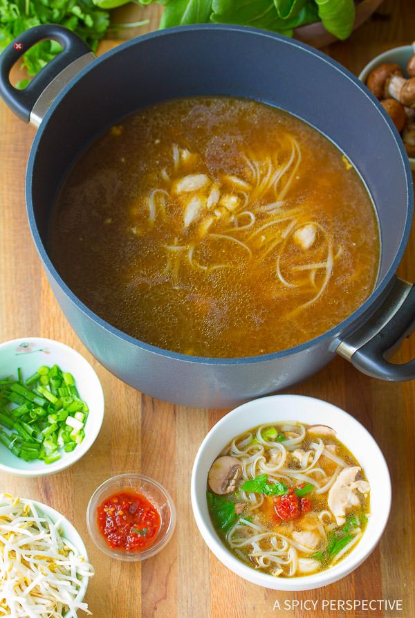How to Make Healthy Chinese Hot Pot Recipe (Gluten Free) | ASpicyPerspective.com