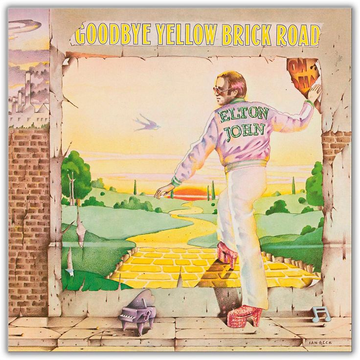 Universal Music Group Elton John - Goodbye Yellow Brick Road Vinyl LP