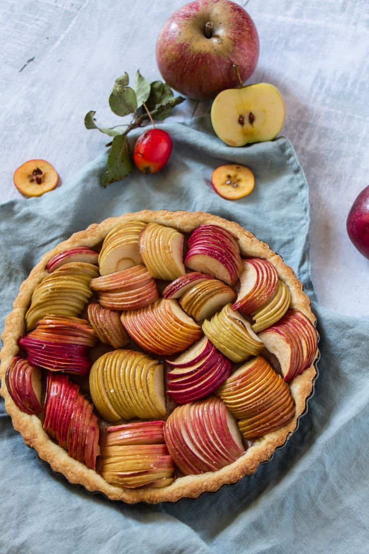 Vegane Apfel Tarte Rezept Beste Foodstories Blogger Rezepte