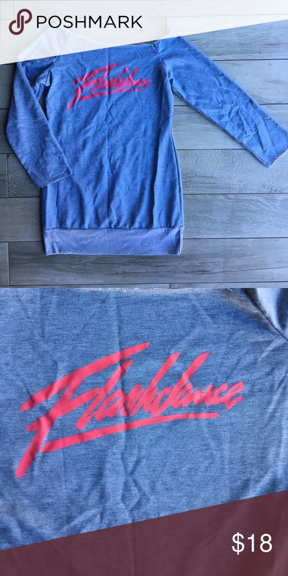 Flashdance sweatshirt dress. This 'Flashdance' sweatshirt dress is from the movie FLASHDANCE . It's brand new without the packaging. It's a one size fits most. Smoke and pet free home Other