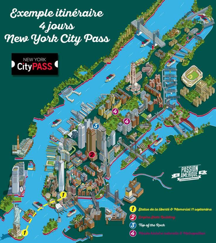 Itinéraire New York City Pass partez en voyage maintenant www.airbnb.fr/c/jeremyj1489