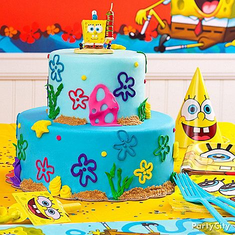 Sponge Bob Party Ideas: Food - Click to View Larger