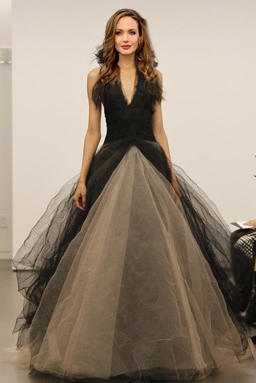 angelina jolie wedding dress  | angelina-jolie-vera-wang-black-wedding-dress-13.jpg