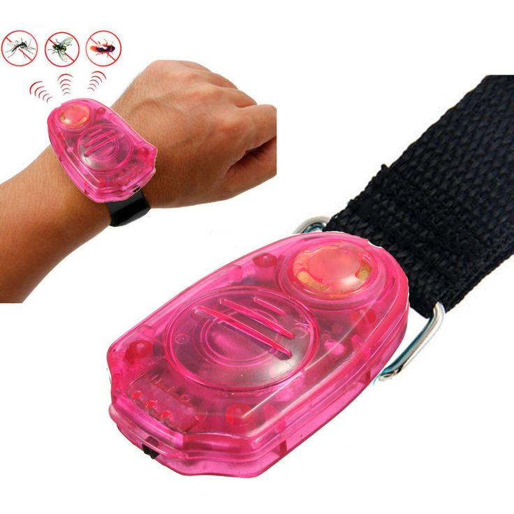 Electronic Ultrasonic Mosquito Repellent Wristband
