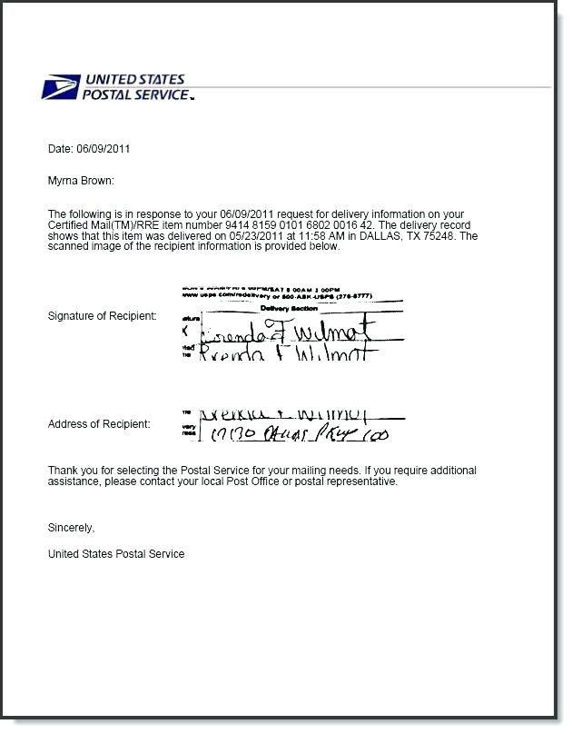 40 Us Certified Mail Receipt Dd0p