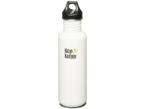 Klean Kanteen Classic - 27oz. - Glacier White by Klean Kanteen. $19.99. Fl. Oz.: 27. Color: Glacier White. Klean Kanteen has always been stainless. Before Klean Kanteen, hydration bottles were made from either polycarbonate plastic or aluminum. We now know that both those materials are associated with a host of diseases and illnesses, info that wasn't common knowledge in 2004 when Klean Kanteen released the first food-grade stainless bottle onto the market. But the...