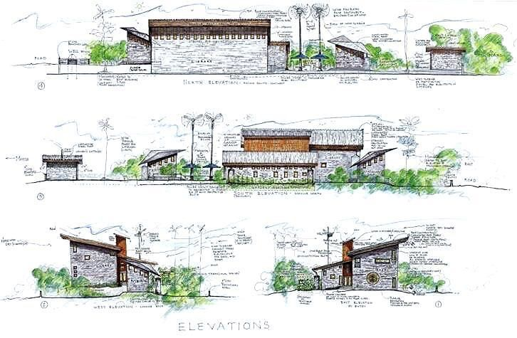 Sample Front Elevation Landscaping : Best read images on pinterest libraries for the home