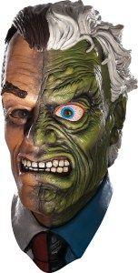 Masque latex adulte Double Face – Batman