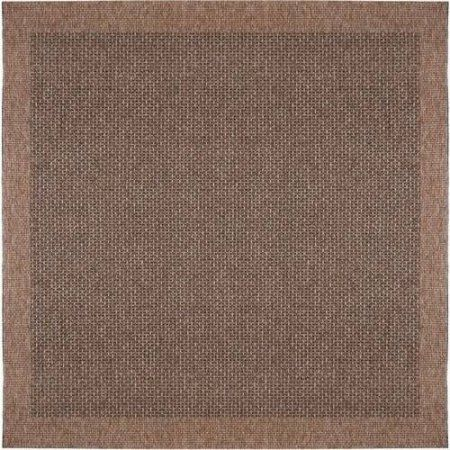 Bliss Rugs Leto Modern Area Rug, Brown