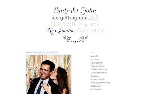 Wedding Websites Ideas: 58 Best Images About Wedding Website Themes On Pinterest