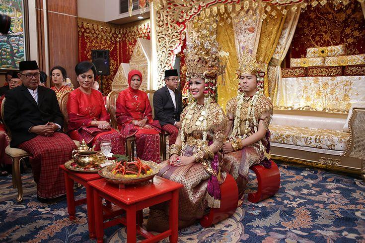 Traditional Minang and Palembang Wedding