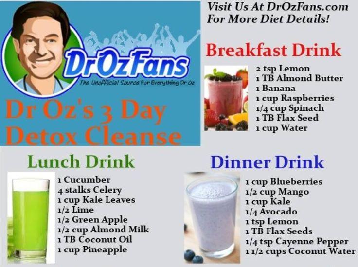dr oz 3 day detox pdf