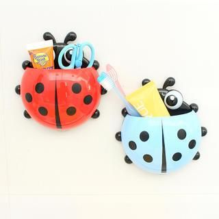 Buy 'Lazy Corner – Ladybird Suction Toothbrush Holder' with Free International Shipping at YesStyle.com. Browse and shop for thousands of Asian fashion items from China and more!