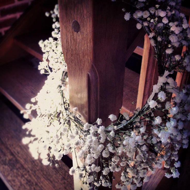 décoration florale par Chantal Lefort une fleur chez vous Estaminet les Damoiselles