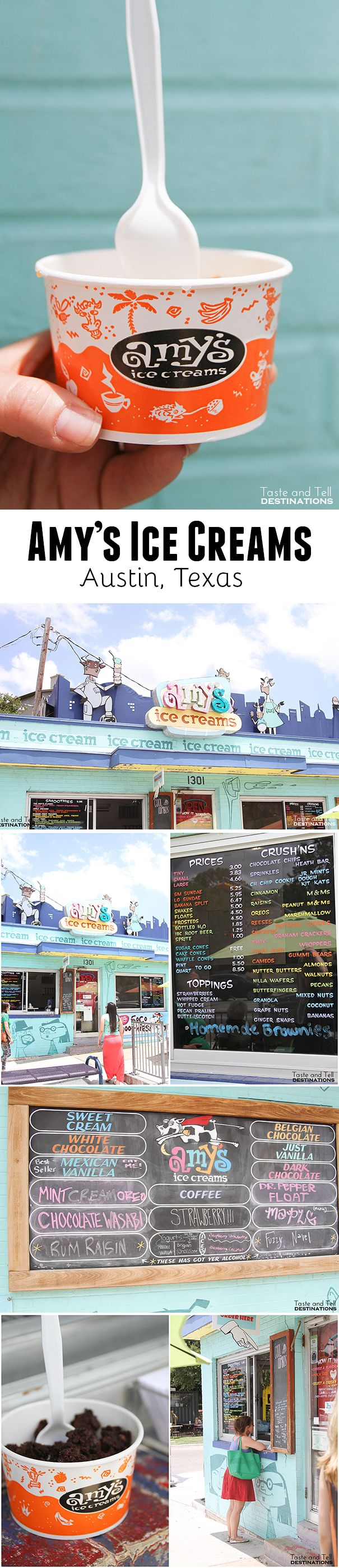 Amy's Ice Creams in Austin, TX  #Austin