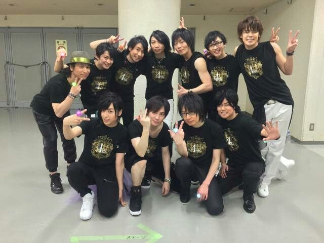 ST☆RISH and QUARTET NIGHT Seiyuus