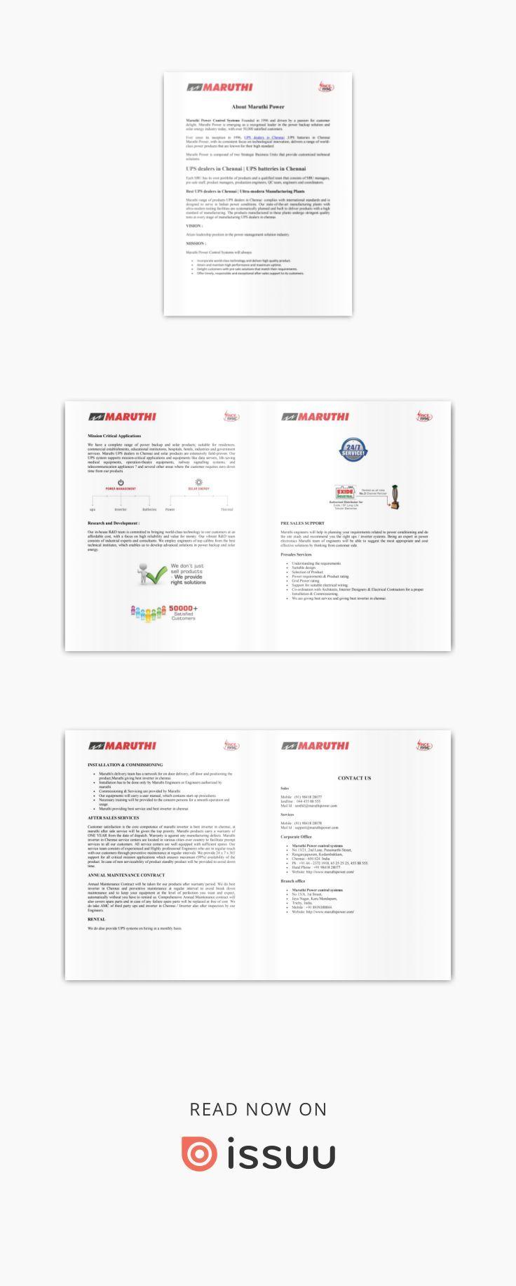 Inverter dealers in Chennai   www maruthipower com   Best ups