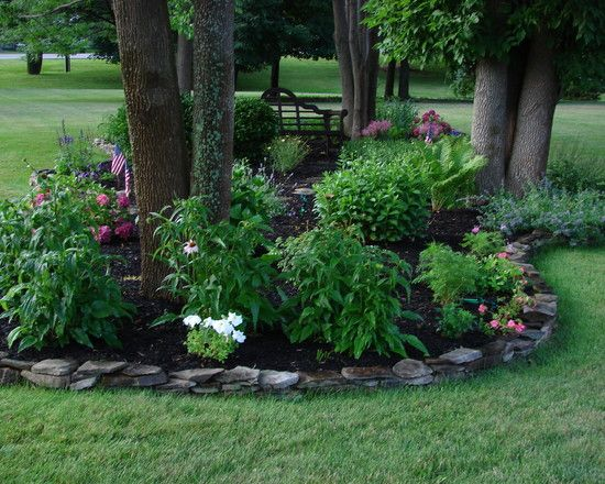 ideas about landscaping around trees on, Landscaping/