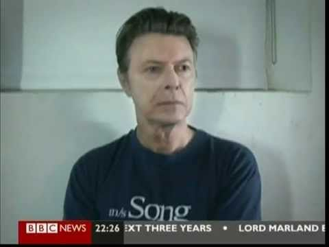 David Bowie - Where Are We Now -BBC News. New Album Announcement 7. - YouTube