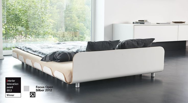 A great minimal platform bed the rounded edges soften it and appeal to me more than harsh - Minimal platform bed ...
