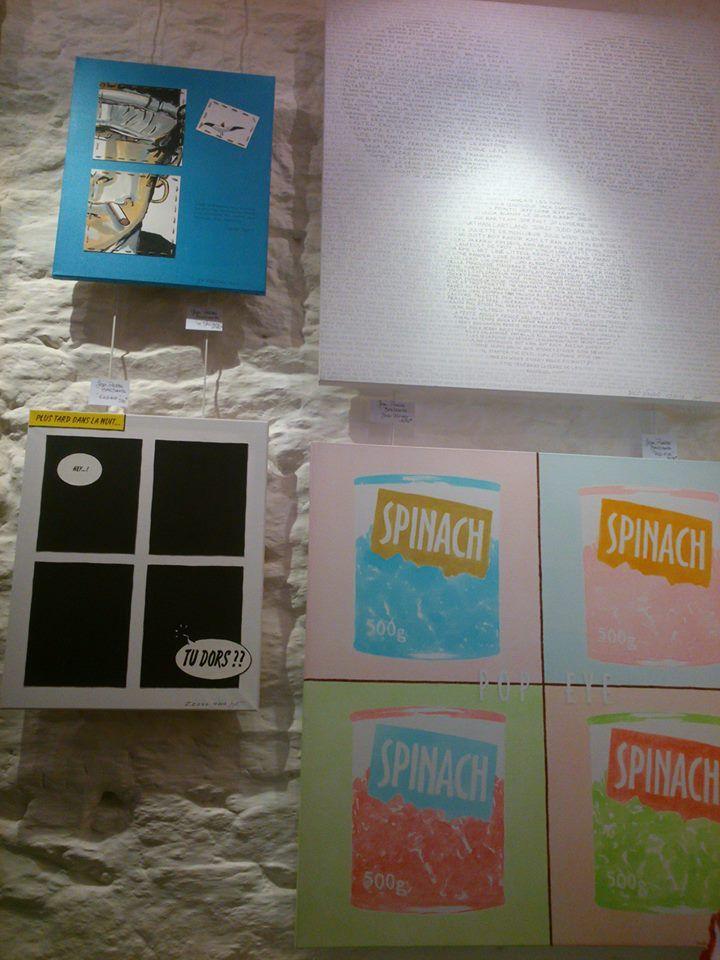 """Photo """"Expo Angle3 BD et Graffes"""