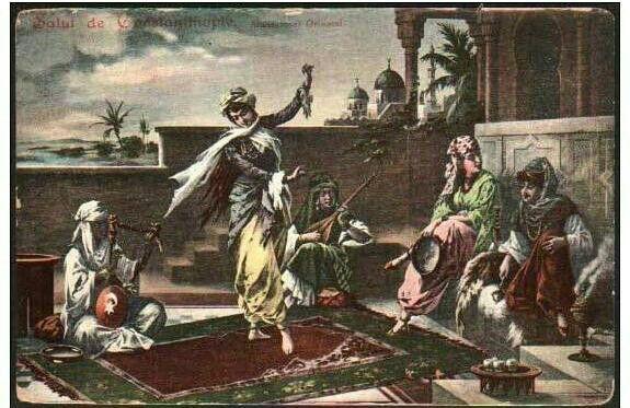 Les femmes dans maison Ottomane