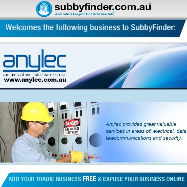 It's FREE to register your Tradie business on Subbyfinder.com.au Building your SubbyFinder profile is quick and easy. Fill out your industry experiences, industry type and any other forms of expertise in your industry.  #subbyfinder #tradie #tradies #anylec