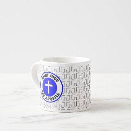Saint Jude the Apostle Espresso Cup - home gifts ideas decor special unique custom individual customized individualized