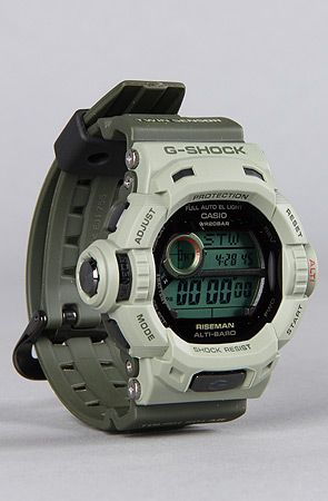 G-SHOCK The Limited Edition RISEMAN EARTH PACK Watch in Khaki and Olive : Karmaloop.com - Global Concrete Culture
