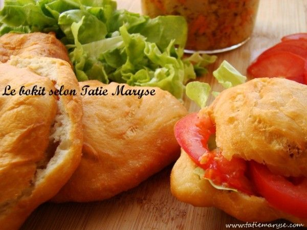 La cuisine de Guadeloupe est savoureuse, ainsi que vous pourrez le constater en dégustant ce bokit, après avoir suivi les conseils de Tatie Maryse !