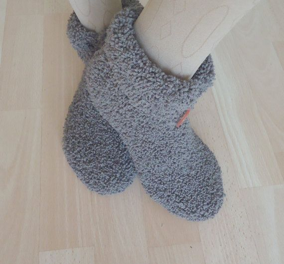 Women Slppers Short Socks with Cuff Slippers With Cuff