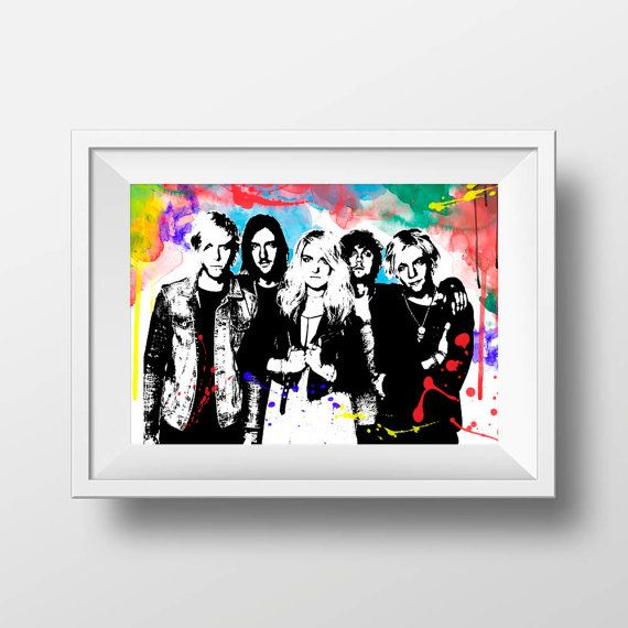 R5  band print music wall decor art poster by BelugaStore on Etsy
